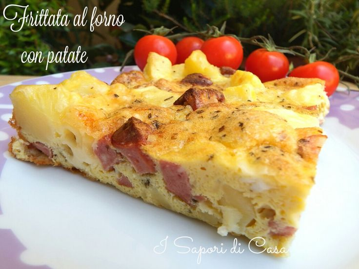 1401778397212 Frittata al forno con patate