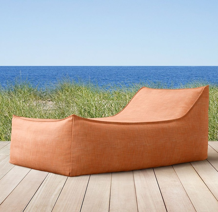 Chaise Outdoor bean bag, Sun lounger,