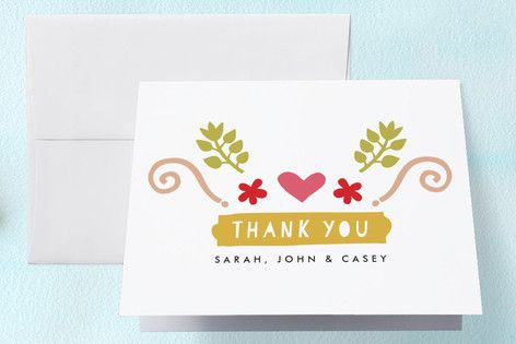 Brand Spanking New Birth Announcements Thank You Cards by Phrosné Ras at minted.com