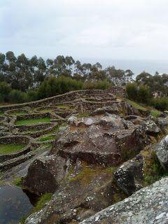 """Celt village """"Castros"""" in Galicia, NW Spain"""