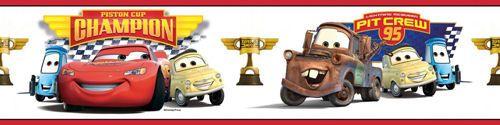 DISNEY CARS PEEL & STICK BORDERS
