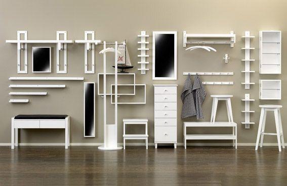 Hallmöbler och speglar