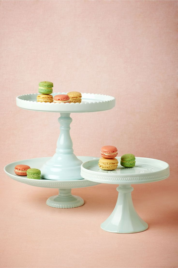 Sweetest Day Cake Stands in Décor at BHLDN