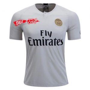 huge discount 3367c ebc4f 2018-19 Cheap Authentic Jersey PSG Away White Shirt [CFC737 ...