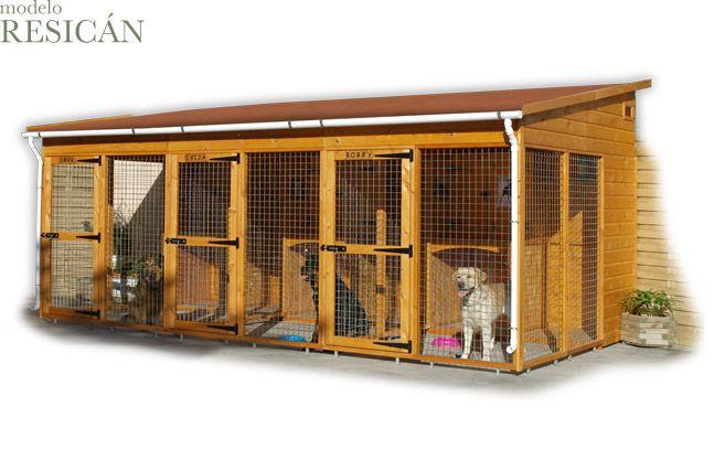 Casitas de madera para mascotas modelo resican para las for Casitas de madera