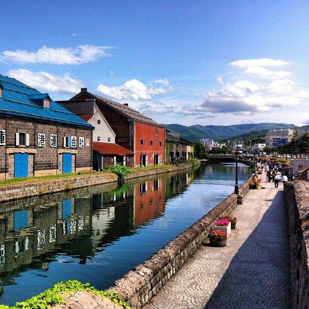 小樽運河 Otaru Canal on 25 Jun 15