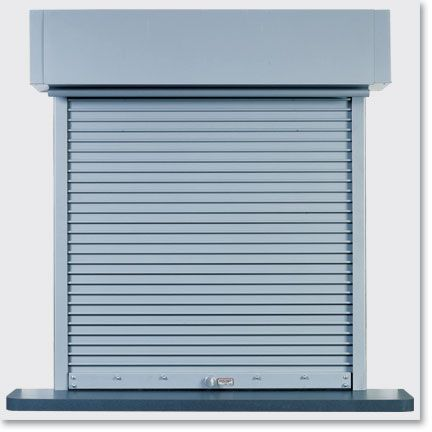 Raynor DuraShutter Rolling Counter Shutter standard we carry and install Raynor doors and shutters www.warehousecubed.com