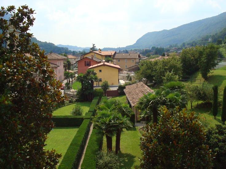 My old bedroom view... Riva San Vitale, Switzerland