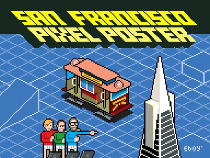 San Francisco Pixel Poster's video poster
