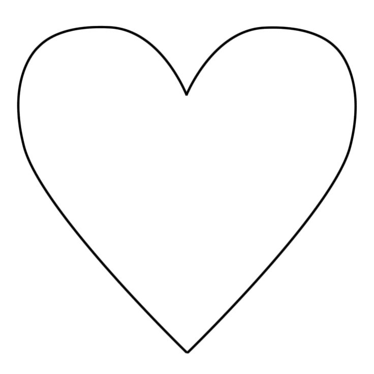 35 good heart template for cutouts for heart animals coloring pages for kidsprintable