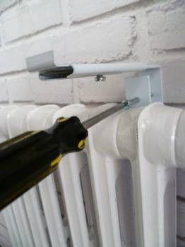 28euros pair    Des accessoires pour mon radiateur Support de tablette de radiateur MI 12/22 (la paire)