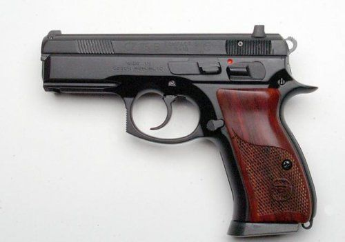 CZ 75 COMPACT CUSTOM 14+1 9MM 3.8 Find our speedloader now!  http://www.amazon.com/shops/raeind