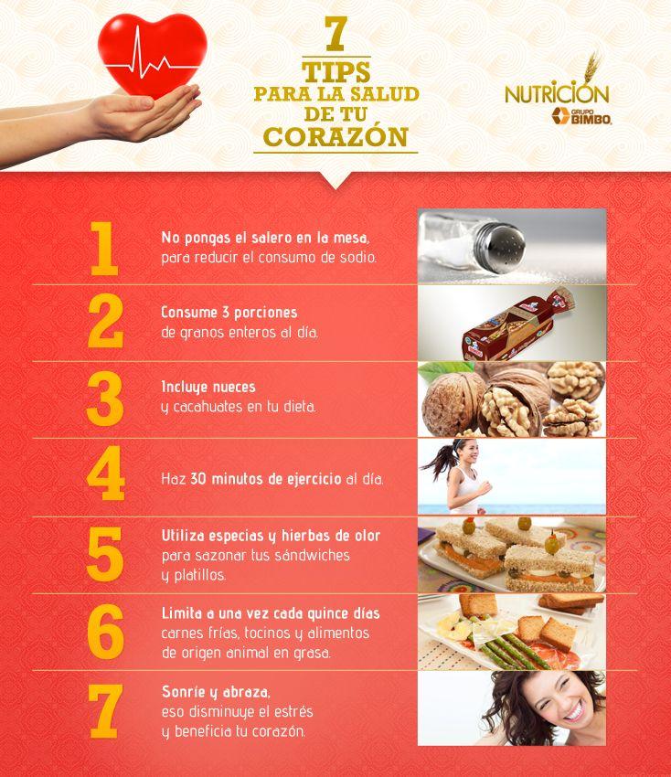 Sigue estos consejos para que tu coraz n lata m s tiempo - Alimentos saludables para el corazon ...