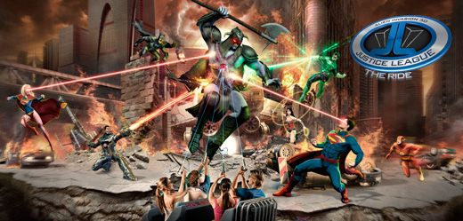 Justice League Ride - movie world
