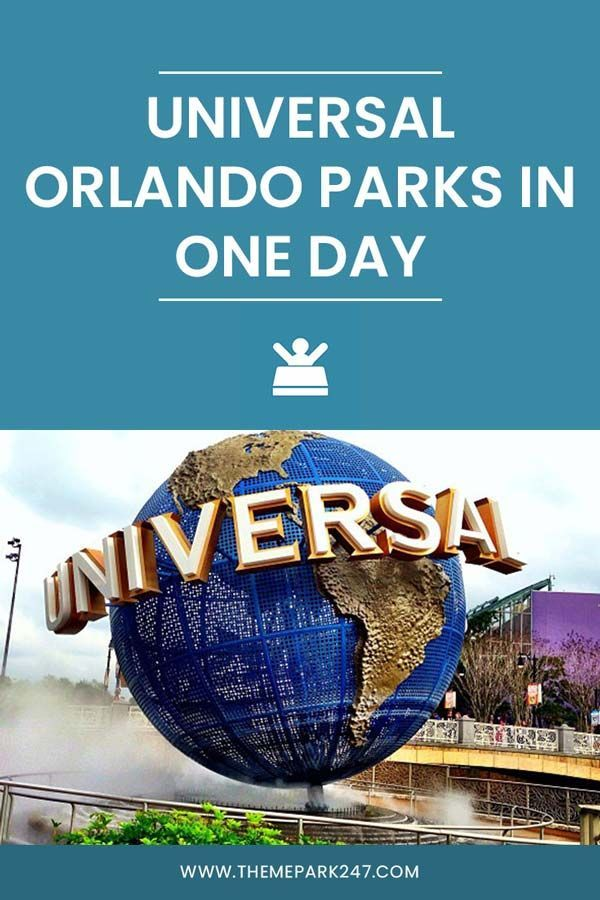 Universal Orlando In One Day Theme Park 247 North America Travel Destinations Usa Travel Guide Florida Travel