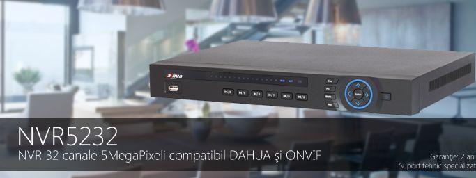NVR AVANSAT 32 CANALE FULLHD 2 HDD NVR5232