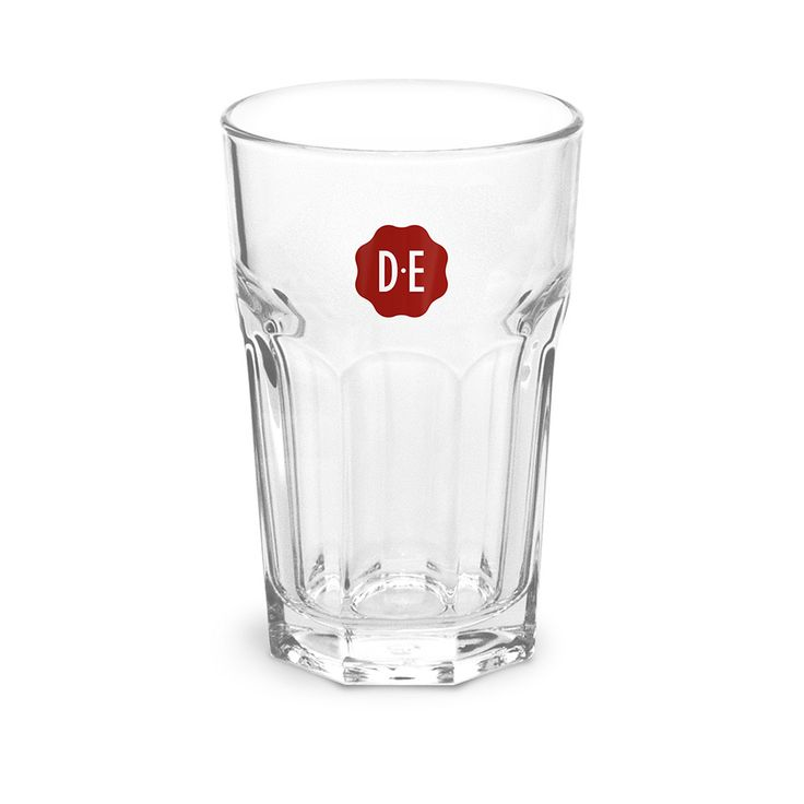 Douwe Egberts Zegel latte macchiato glas 0.35 cl.