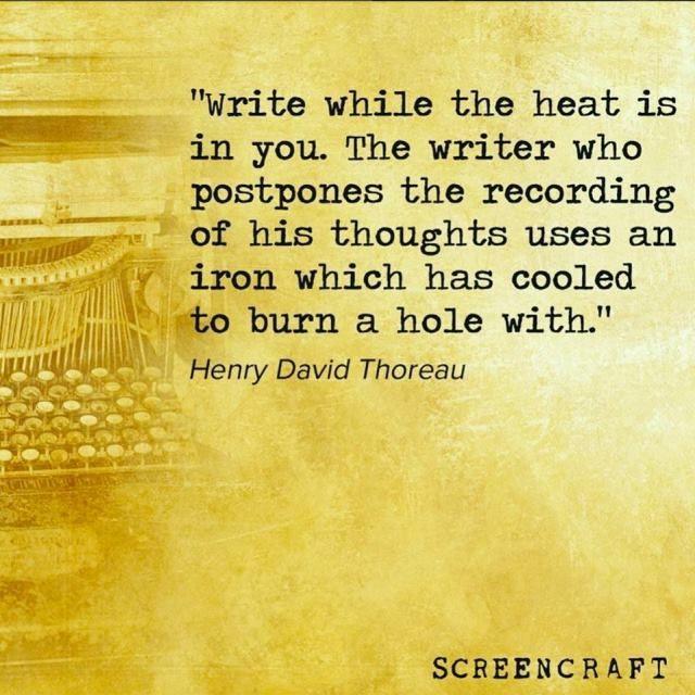 Quotable – Henry David Thoreau - Writers Write