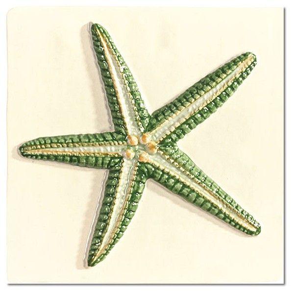 Kolekcja Mediterranean - płytki ścienne Dec. Mediterranean Amaral Green 15x15