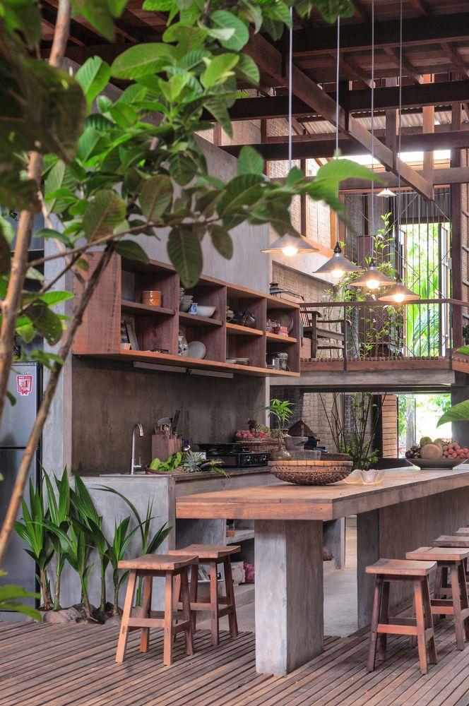 House in Chau Doc,© NISHIZAWAARCHITECTS