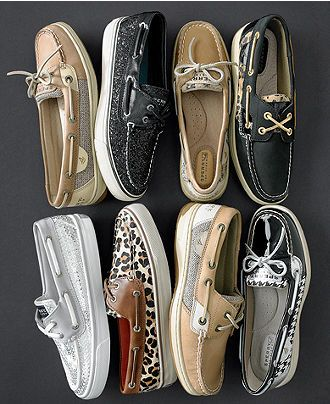Sperry Top-Sider Women's Shoes, Angelfish Boat Shoes - Fall Shoe Trends