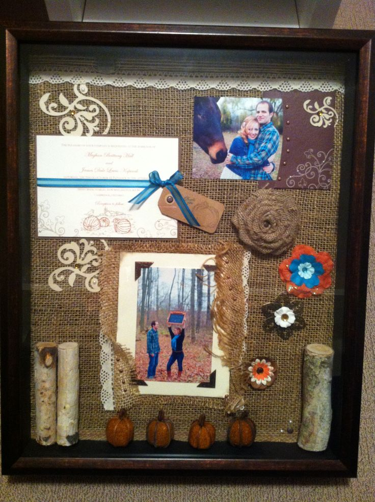 Wedding Gift Shadow Box : ... wedding on Pinterest Receptions, Wedding and Green weddings