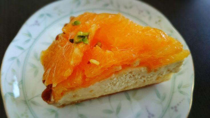 オレンジのタルト  南箕輪村 miwa&torte