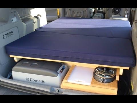 2008 Chrysler Town Amp Country Minivan Camper Youtube My