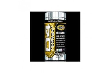 Cellucor D4 Thermal Shock 120 Capsules + Free Sample Price: WAS £54.99 NOW £49.99