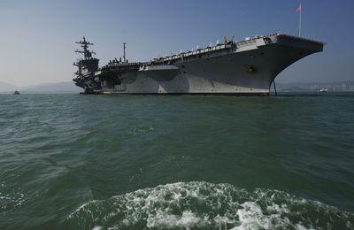 Tillerson Dismisses North Korea Regime Change as Ships Move  https://www.bloomberg.com/politics/articles/2017-04-09/u-s-carrier-diverts-to-north-asia-amid-north-korea-tension?utm_source=yahoo