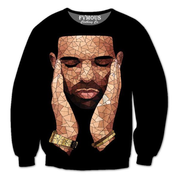 DRAKE OVO ($50) ❤ liked on Polyvore featuring tops