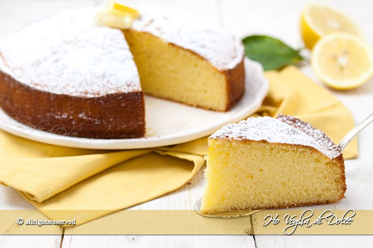 Torta+al+limone+e+yogurt