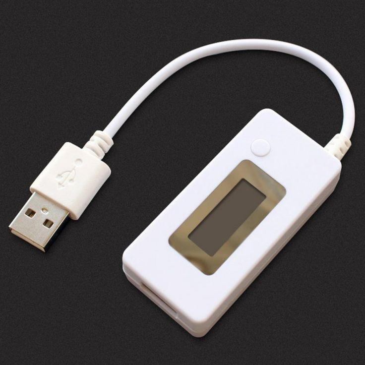 Berguna USB Charger Daya Mobile PC Kapasitas Baterai Mini Tegangan Current Tester Meter