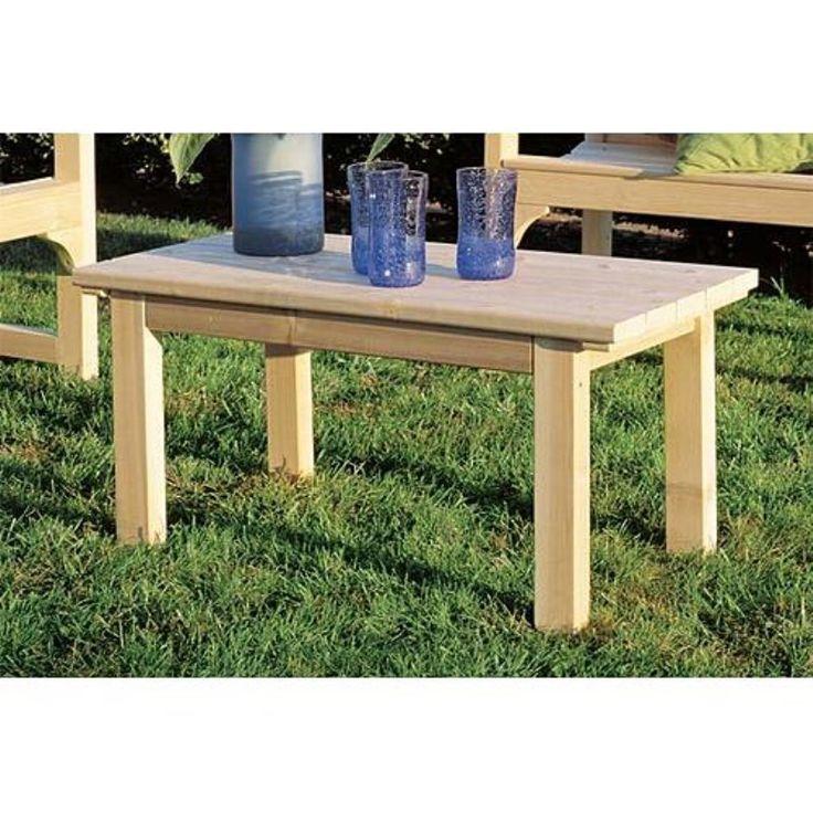 Outdoor Rustic Natural Cedar Furniture English Garden Table   0500509