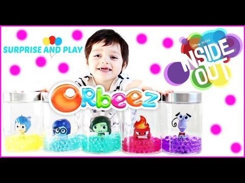 Inside Out Orbeez Surprise Jars and Orbeez Swirl n' Whirl