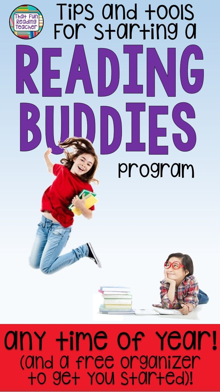 Thinking about starting a Reading Buddies program in your classroom this year? Here are some tips and tools to get things rolling - any time of year! #education #readingbuddies #reading #earlyyears #earlylearning #iteach #iteachtoo #kindergarten #tips #fun