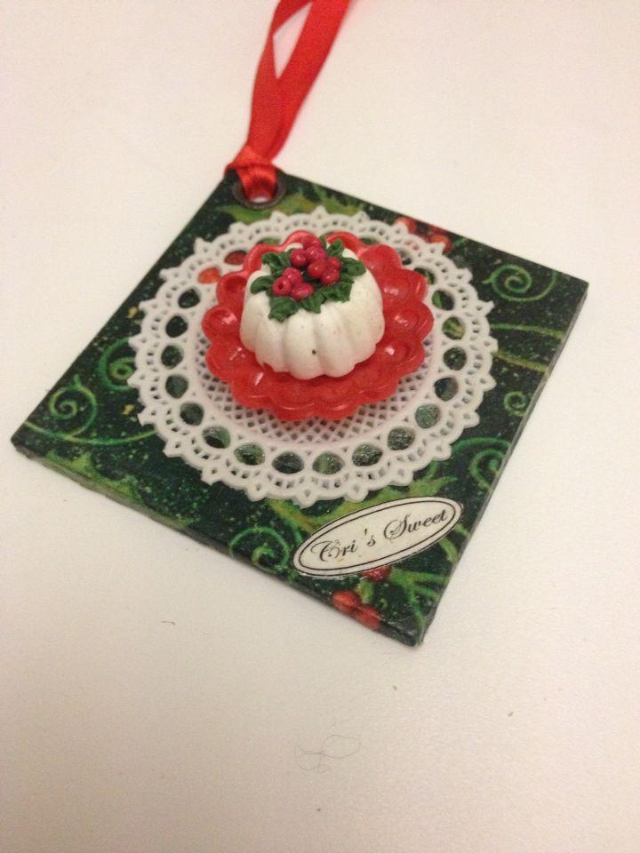 Mini-cake Natale Cri's Sweet
