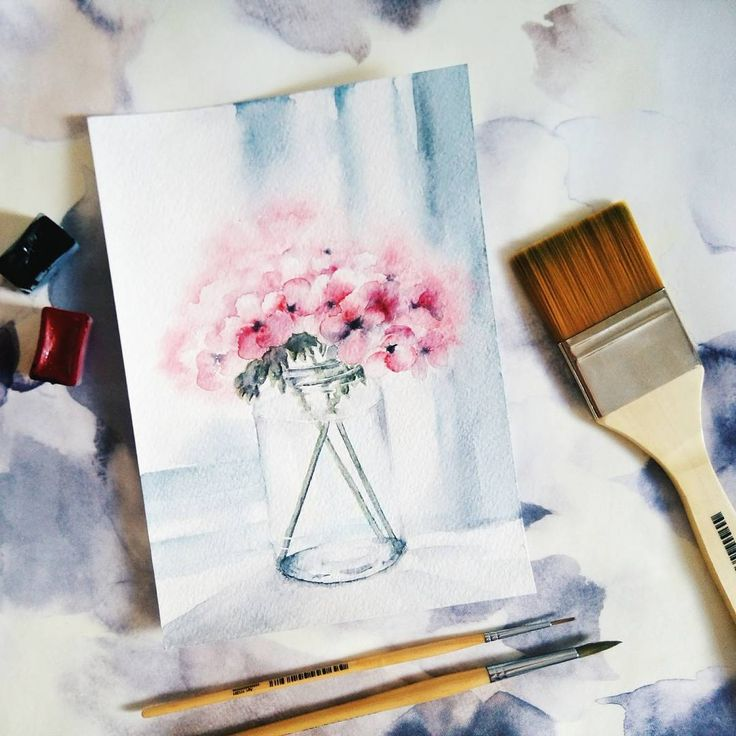 #flowers #spring #art #watercolor #inspire #inspiration