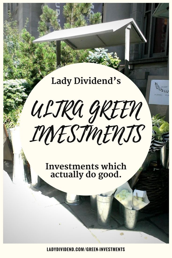 Eco friendly investments can be green washed and not actually good for the environment. Check out the investments my research has shown actually do good.   http://ladydividend.com/green-investments/  #ecofriendly #green #investing