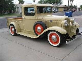 34 Ford Pickup... for the best in car care products click here: http://johnbellblog.com