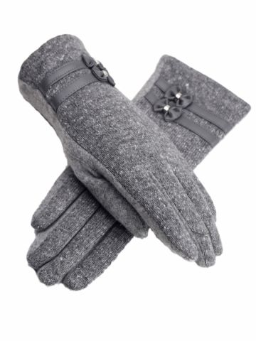 Buy Women's Gloves Stylish Pretty Catching Warm Cozy Wool Blend Accessory & Women's Gloves - at Jollychic