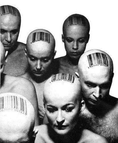 Barcoded people