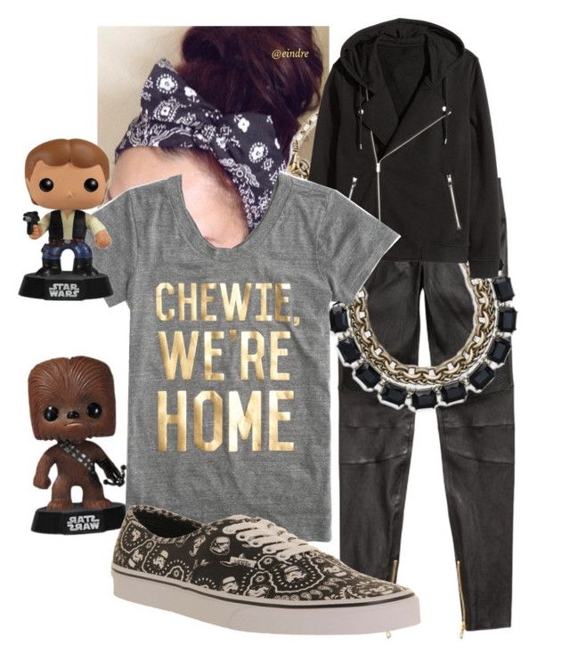 """""""Chewie,  we're home"""" by snnkitty on Polyvore featuring H&M, J.Crew and Vans  Shop this jewelry at my boutique chloeandisabel.com/boutique/sunny"""