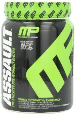 Muscle Pharm Assault Pre-Workout System, Fruit Punch, 1.59 Pound - For Sale