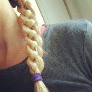 How to do a 4 strand braid.