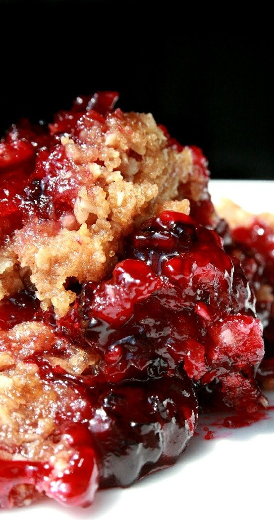 Blackberry Crumble from So Wonderful, So Marvelous