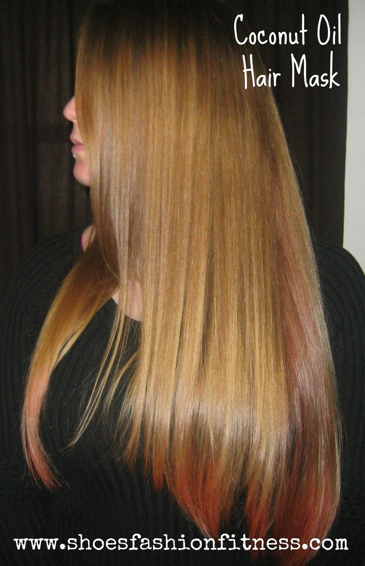 Shiner, Healthier, Longer hair, with just coconut oil!
