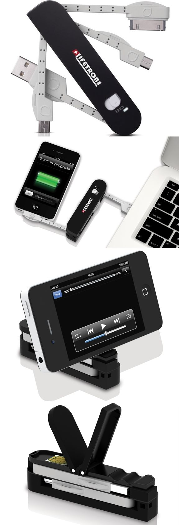Lifetrons Multi-Tool Adaptor - 1 of 5 cool gift ideas for tech-loving travelers featured on Spot Cool Stuff:  http://tech.spotcoolstuff.com/travel-gadget-review/tech-loving-gift-guide