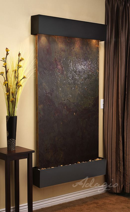 Best 25+ Indoor wall fountains ideas on Pinterest | Indoor water ...