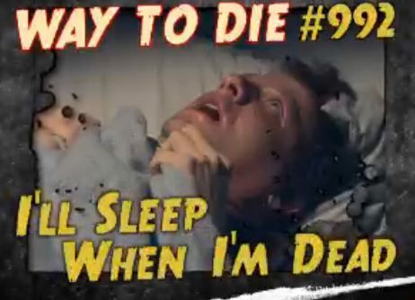 I'm a college student ready to die?